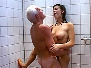 Old man latina fuck
