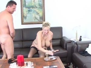 Mature chicks from Germany getting the drilling they dreamed about
