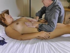 Pandora Massaged and Fingered To Orgasm
