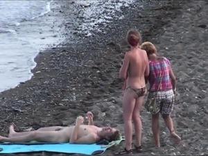 Nudist Beach Encounters 016