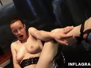 Kinky German Secretary