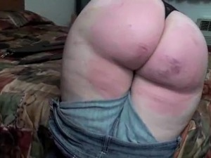 lovely bbw spank hard