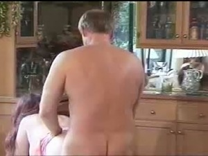 57 years old redhead wife of my coworker works on my massive dick