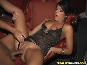 Group Sex Orgy In The VIP