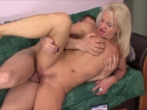 Hot milf and her younger lover 471