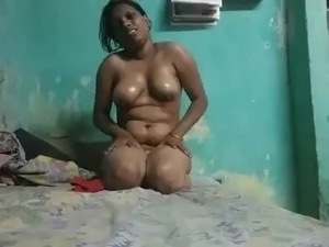 Girl in petticoat and tits out