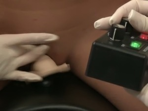 Bunch of perverted female doctors please kinky slim bitch with nice fuck tool