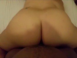 my bbw pawg girlfriend riding my bbc doggystyle