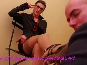 UNP027- Feetinception - Hot Secreaty Dominatrix -FULL HD