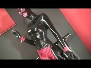 Total Rubber Smoking Mistress