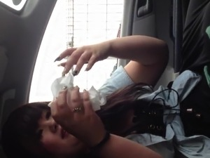 JPN Amateur In the car blowjob