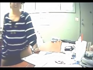 Married Chick Fucks Her Employee At Work