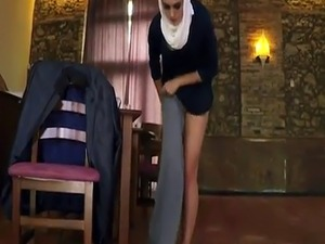 Arab guy xxx Hungry Woman Gets Food and Fuck