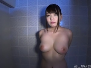 Curvy brunette Amano Miyuu wants to be drilled by a horny hunk