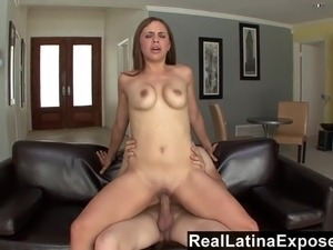 RLatinaExposed - Sabrina's Huge Tits Are Perfect For fucking