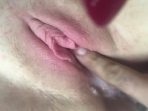 Neal from Craigslist fingers creampie in my MILF cunt
