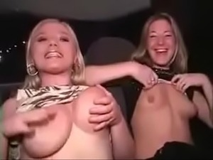 Party Girls Going Wild! Tit-Showing-Ass-Flashing White Chicks