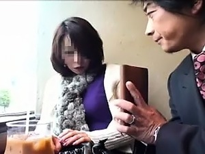 Delightful Japanese lady has two boys pleasing her tight ha