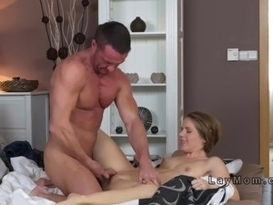 Dominant wife bags her husband till creampied