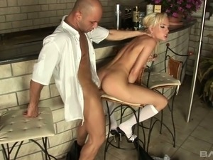 Bubbly maid Vanessa really seems to want dick inside her