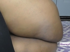 HornyLily fingering her creamy asshole