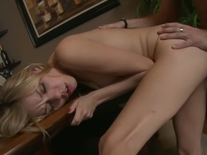 Horny bride seduces her man to fuck before their wedding