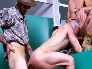 Dick movie of  army gay xxx Good Anal Training
