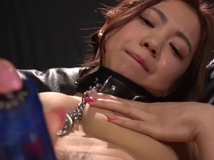 Nasty BDSM game with an insatiable Japanese sex slave