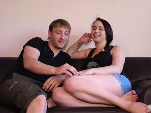 SEXTAPE GERMANY - First time with young tattooed German slut