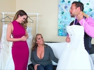 Stressful sexy wedding
