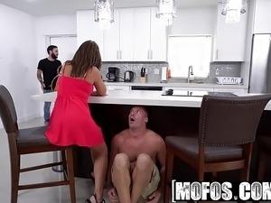 Mofos - Latina Sex Tapes - Natural Boobs on Cheating GF star
