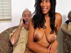 Old man fuck young girl Glenn completes the job!