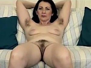 Mature women with hairy pussy