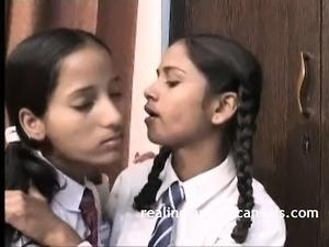Cute Indian Lesbian Teen Porno