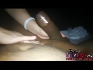 Chinese Indian desi cock massage with cum - Part 2 - EllaLive.com