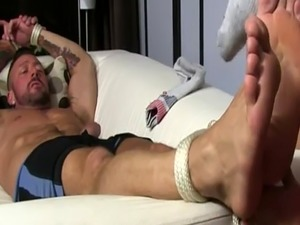 Gay twink gets toe sucked first time Dolf's Foot Sex Captive