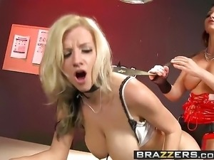 Brazzers - Hot And Mean -  Prostitute Trains Sexy Cop scene
