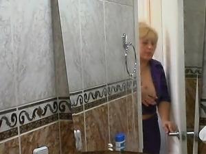 Mature Couple Shower Cam