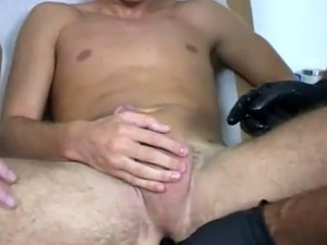 Gay doctor and boy sex video first time Dr. Luca greased up