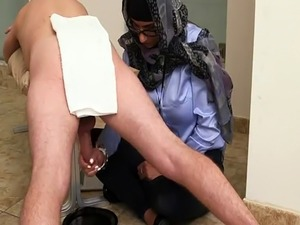 Arab mature couple Black vs White  My Ultimate Dick Challenge.