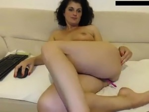 Teen With A Small Ass Masturbates