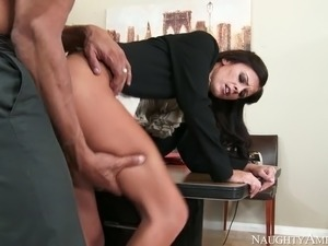 nasty secretary whitney westgate getting fucked by her boss in his office