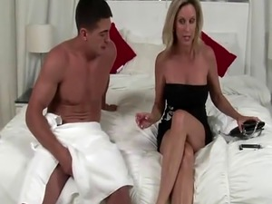 Jodi West fucks her son's best friend