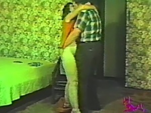 Old school homemade fuck tape featuring an amateur couple