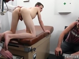 Nude boy with glasses gay Doctor's Office Visit