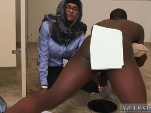 Arab queen first time Black vs White  My Ultimate Dick Challenge.
