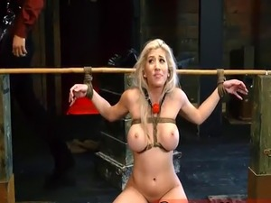 Hand domination compilation Big-breasted ash-blonde bombshell Cristi A