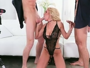 Dirty Bisexual Group Sex