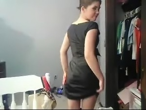 Amateur babe webcam dancing
