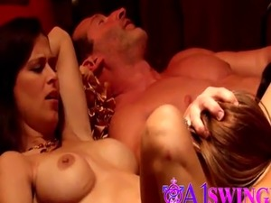 Ebony Wife Joins Swinger Reality Show And Gets Fucked By Strangers